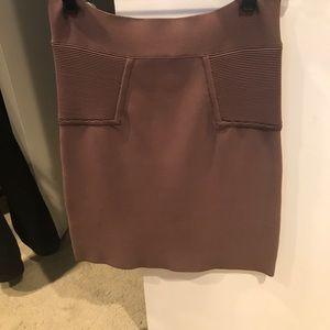 BCBGMaxAzria stretch mini skirt.